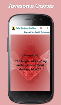 Daily Gautama Buddha Quotes screenshot 3