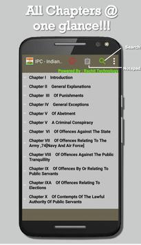 IPC -- Indian Penal Code poster