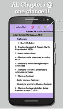 Indian Christian Marriage Act poster