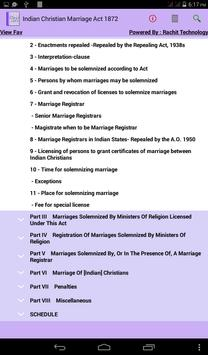 Indian Christian Marriage Act apk screenshot