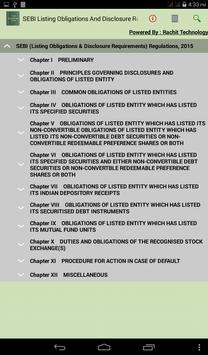 SEBI Listing Regulations 2015 poster
