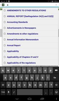 SEBI Listing Regulations 2015 apk screenshot