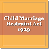 India - The Child Marriage Restraint Act 1929 icon