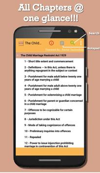 India - The Child Marriage Restraint Act 1929 poster
