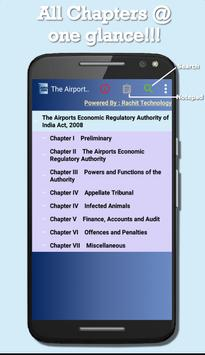 Airports Economic Regulatory Authority of India poster