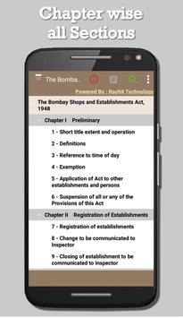 The Bombay Shops Act 1948 screenshot 1