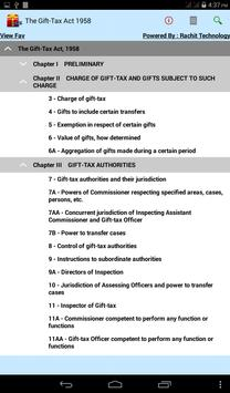 The Gift-Tax Act 1958 screenshot 1