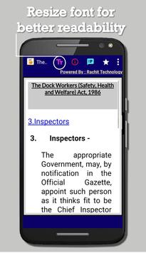 Dock Workers (Safety, Health and Welfare) Act 1986 screenshot 2
