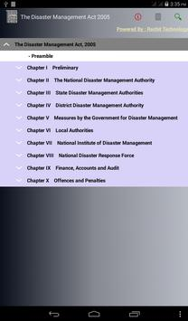 The Disaster Management Act, 2005 poster
