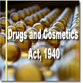 India - The Drugs and Cosmetics Act, 1940 icon