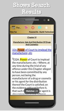 India - The Drugs and Cosmetics Act, 1940 for Android - APK