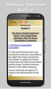 India - The Drugs and Cosmetics Act, 1940 screenshot 12