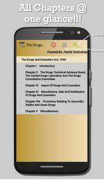 India - The Drugs and Cosmetics Act, 1940 screenshot 16