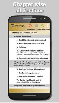 India - The Drugs and Cosmetics Act, 1940 screenshot 1
