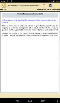The Hindu Minority Act 1956 apk screenshot