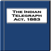 The Indian Telegraph Act 1883 icon