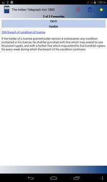 The Indian Telegraph Act 1883 apk screenshot