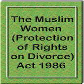 The Muslim Women Act 1986 icon