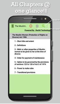 The Muslim Women Act 1986 screenshot 8
