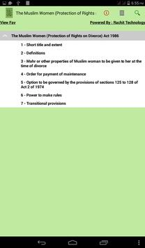 The Muslim Women Act 1986 poster