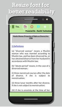 The Muslim Women Act 1986 screenshot 2