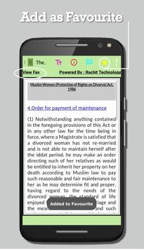 The Muslim Women Act 1986 screenshot 3