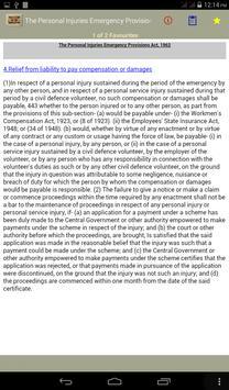The Personal Injuries Act 1962 apk screenshot