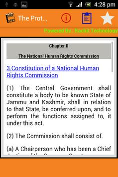 India - The Protection of Human Rights Act 1993 apk screenshot