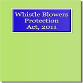 Whistle Blowers Protection Act icon