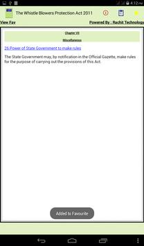 Whistle Blowers Protection Act apk screenshot