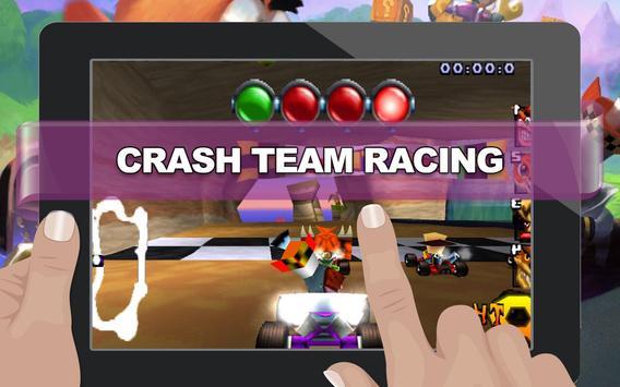 Super Adventure of Crash Racing apk screenshot