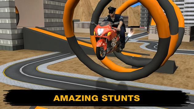 Racing Bike Stunt Simulator poster