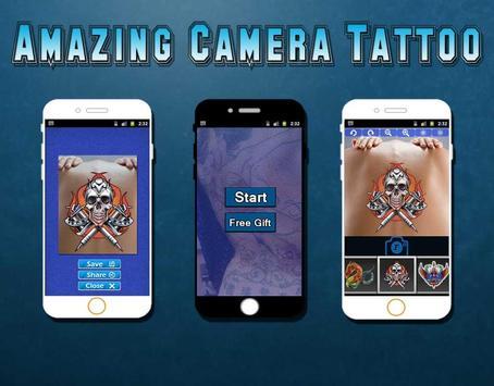 Amazing Camera Tattoos apk screenshot