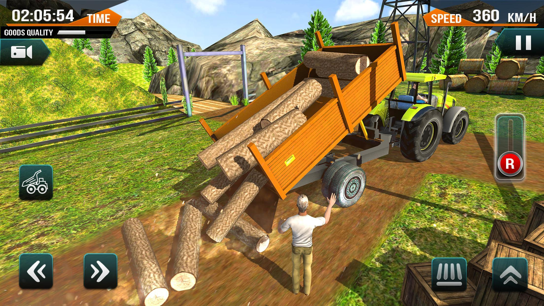 Offroad Tractor Farming Simulator for Android - APK Download