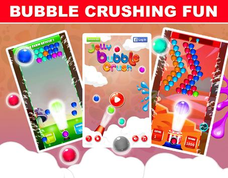 Jelly Bubble Crush screenshot 9