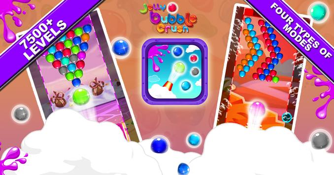 Jelly Bubble Crush screenshot 12