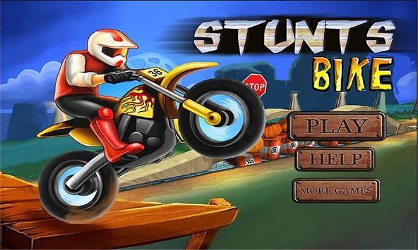 Stunts Bike:Ride Game poster