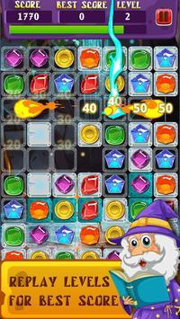 Magic Jewels: Match 3 Quest screenshot 11