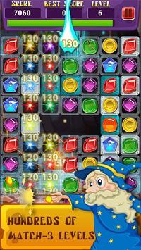 Magic Jewels: Match 3 Quest screenshot 1