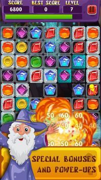 Magic Jewels: Match 3 Quest apk screenshot