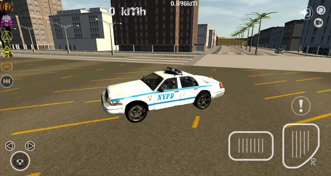 Theft and Police Game 3D poster