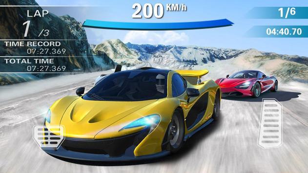 Carro de corrida louco 3D imagem de tela 15