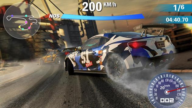 Carro de corrida louco 3D imagem de tela 3