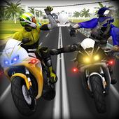 Road Rash Rio : Race the Traffic Moto Race icon