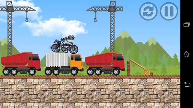 Crazy Stunt Racing Bike poster