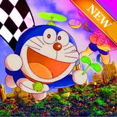 New doremon Racing adventure icon