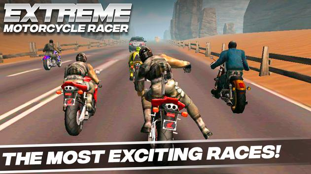 Extreme Motorcycle Racer screenshot 3