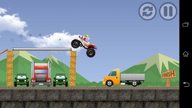 Hill Climb Fast Racing 2017 apk screenshot