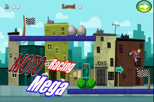 Mega Racing Moto poster