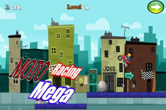 Mega Racing Moto apk screenshot
